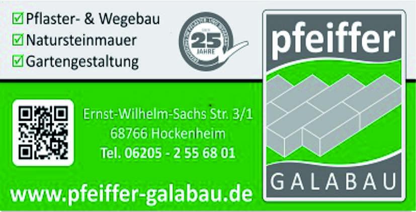 Pfeiffer Galabau