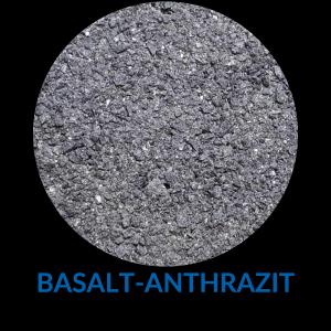 Sand basalt-anthrazit
